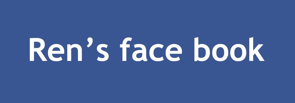 REN TOMAのFacebookページ