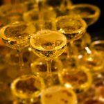 キャバクラのシャンパンタワーフリー画像