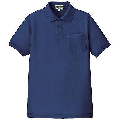 紺のポロシャツ画像